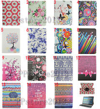 Auto Sleep 360° Rotating Printed Leather Case Cover For Samsung Tab S 10.5 T800