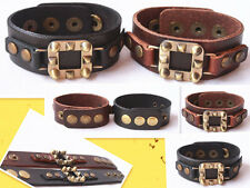 1pcs New Styles men Leather Bracelet Adjustable Wholesale Lots Bracelet J018-019