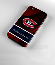 New Design Montreal Canadiens Ice Hockey iPhone 3D Case Cover