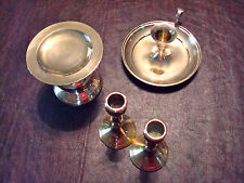 Vintage BRASS candle holders pillar stick India INDIVIDUALLY SOLD