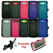 Samsung galaxy S3 defender case w/build in screen protector&belt holster clip