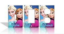 PERSONALIZED Frozen Elsa Anna Light Switch Covers Disney Home Decor Outlet