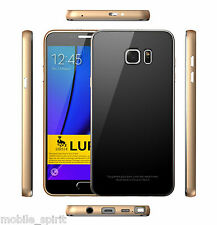 Tempered Gorilla Glass + Metal Bumper Case Cover for Samsung Galaxy Note 3 N9000