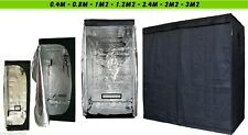 INDOOR Portable crescere Tenda green room ARGENTO Mylar Hydroponics FODERATO CARBONIO