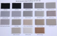 "1/8"" Flat Knit Auto Headliner Material Fabric 17 Colors - Samples 2"" X 2"""