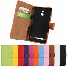 Wallet Leather Mobile Phone Case Cover For Sony Xperia Model