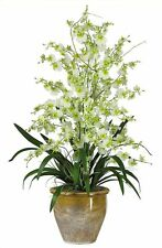 Triple Oncidium Dancing Lady Orchid in 4 colors by Nearly Natural | 32 inches