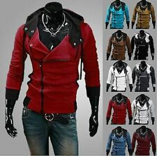 New Men's Duck Down Hoodie Warm Jacket Winter Long Parka Coat Overcoat