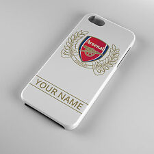 Personalised Arsenal Phone Case - iPhone 4, 5,5s,5c, 6, 6 plus Galaxy S3, S4, S5