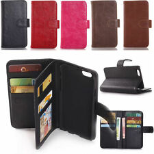 Leather Wallet Phone Flip Stand Cover Case Skin For Apple iPhone 6 iPhone6 Plus
