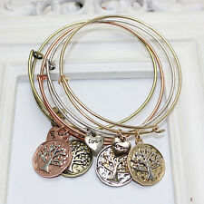 NEW HOT beautiful fashion 4Colors alex and ani tree charms jewelry bracelet