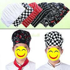 Adult Traditional Style Cloth Chef Cooking Baking Hotel Catering Hat Cooks Cap