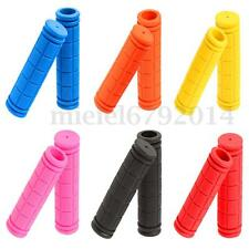 1 Pair Cycling Bike Bicycle MTB Fixie Lock-on Fixed Gear Rubber Handlebar Grips