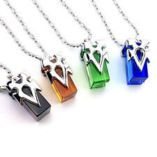 Sword Art Online Krito/Asuna record crystal/ delivery crystal necklace w/ box