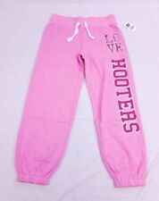 "Hooters Apparel Women's ""Love Hooters"" Capri Sweats Sweatpants Light Pink"