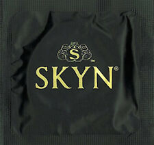 LIFESTYLE SKYN CONDOMS NON-LATEX  POLYISOPRENE CONDOM W/ FREE LUBE CHOOSE QTY