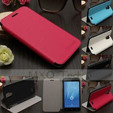 Sottile Flip PU Cuoio Case Cover Custodia Stand Per Doogee Voyager 2 DG310 NEW