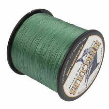 8 Strands Green 1000M PE Dyneema Braid Fishing Line 10LB-300LB Spectra Big Game