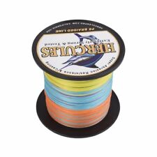 Multicolor 100M Dyneema Big Game Braid Fishing Line 10LB-300LB 8 Strands Spectra
