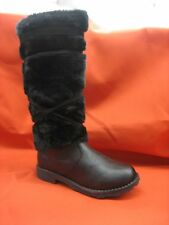 NEW  Black Boots for Toddler,Youth/ Zipper/ FUR/ Winter/ Waterproof/ Size 10-5