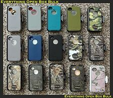 OEM Otterbox Defender Series Impact-Resistant Hard Case for Apple iPhone 4/4S