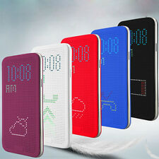 Dot view case smart cover filp Leather case for Samsung galaxy S5 G900 free film