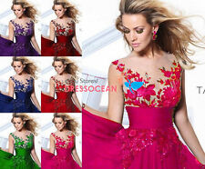 Formal Long Ball Gown Party Prom Cocktail Wedding Bridesmaid Evening Dress 6-16