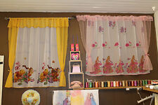 VOILE DISNEY NET CURTAIN WINNIE THE POOH PRINCESS TOY STORY BARBIE SCOOBY DOO