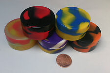 NonStick Silicone Container, BHO Wax Honey Dab Shatter Concentrate, Multi-colour
