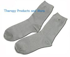 CONDUCTIVE SOCKS FOR DIABETIC NEUROPATHY/TENS ELECTROTHERAPY PAIN RELIEF FEET