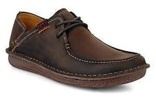 New Clarks Mens Un Quay Mahogany Slip On Shoes rrp £89.99 E318
