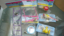 PACKS ASSORTED SMALL BIRD TOYS IN 3s or 6s BUDGIE CANARY AND OTHER SMALL BIRDS