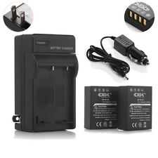 NP-W126 BCW126 Battery +Charger for Fujifilm X-Pro1 X-T1 FinePix HS33EXR HS35EXR