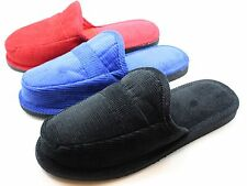 MEN & WOMEN CORDUROY HOUSE SHOES OPEN BACK SLIPPERS 5Colors FREE SHIPPING