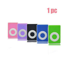 Mini Clip USB MP3 Player Micro SD TF Memory Card 5 Colors Support  Up To 1-8GB