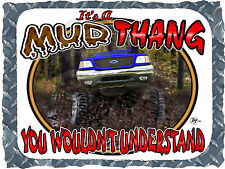 1997-2003 FORD TRUCK 4X4 F-150 MUD THANG BOGGING PRINTED T-SHIRT SMALL-4XL NEW