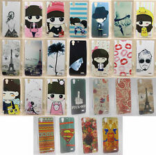 For Huawei Ascend G630 Flower Rose Minions Elephant Girl Cartoon Hard Case Cover
