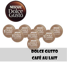 DOLCE GUSTO  CAFE AU LAIT COFFEE 12 - 24 - 48 Capsules