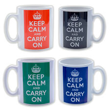 Keep Calm Mugs Custom Personalised on Various Type Mugs Free Delivery Gift Boxed