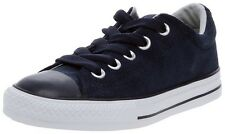 Converse Chuck Taylor All Star Street OX Navy Leather Youth Shoes Size 13-6