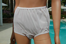 VINTAGE DIXIE BELLE SHEER NYLON PANTIES, IN SIZES, Style #719, ALL SIZES, WHITE