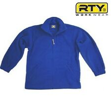 RTY Workwear Half Zip Mens Fleece Royal Blue XXL
