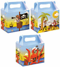 Pirate Party Food Lunch Boxes Childrens Wedding Gift Bags Loot Themed Birthday