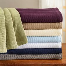 All Season Luxurious 100% Cotton Metro Stitch Design Blanket