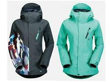 Volcom Snowboard FAWN INSULATED Ski Jacket 80g Oxford AUTHENTIC Womens NEW 2015