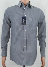 Stafford NEW Men's Multi-Colored Striped Fitted Performance Super Dress Shirt