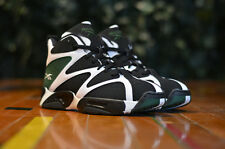 Mens Reebok Kamikaze I 1 Mid Sneakers New, White Blk Green V60362 Shawn Kemp