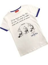Boys Official Diary of a Wimpy Kid White T-Shirt Age 5-6 Years Only Last Two