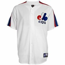 Majestic Montreal Expos Cooperstown Collection Replica Jersey - White