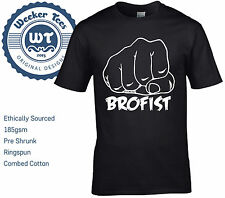Brofist T-Shirt. Tribute to YouTube sensation PewDiePie. 9 Colours, Fast P+P!
